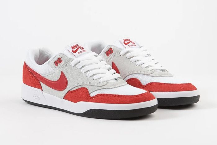 Nike Sb Gts Return Air Max 1 Sport Red Front Angle