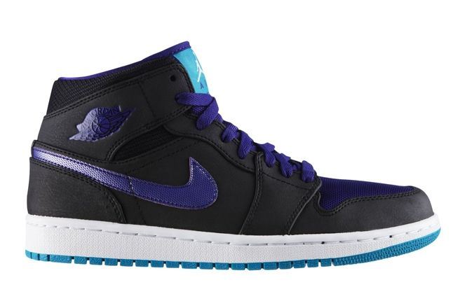 Air Jordan 1 Black Grape Profile 1