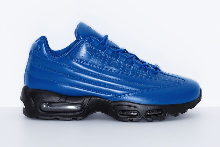 Supreme Nike Air Max 95 Lux Blue Release Date Lateral