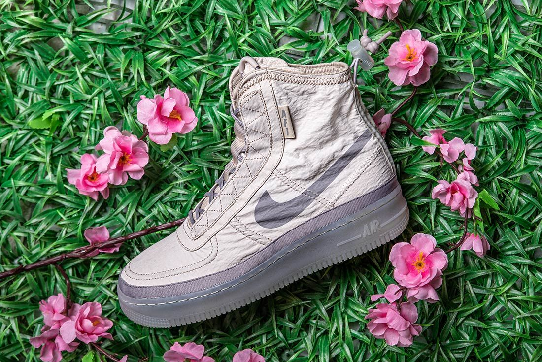 Nike Air Force 1 High Shell Left Side