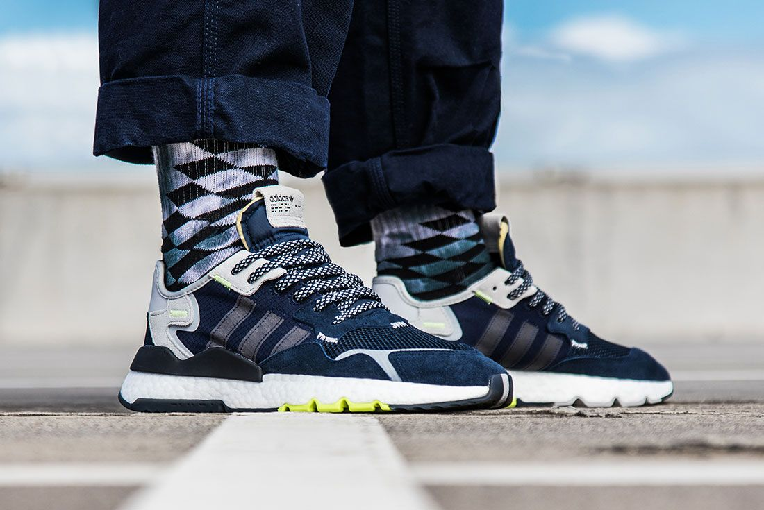 Adidas Nite Jogger Navy Right