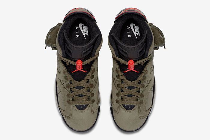 Air Jordan 6 Travis Scott Gs Top