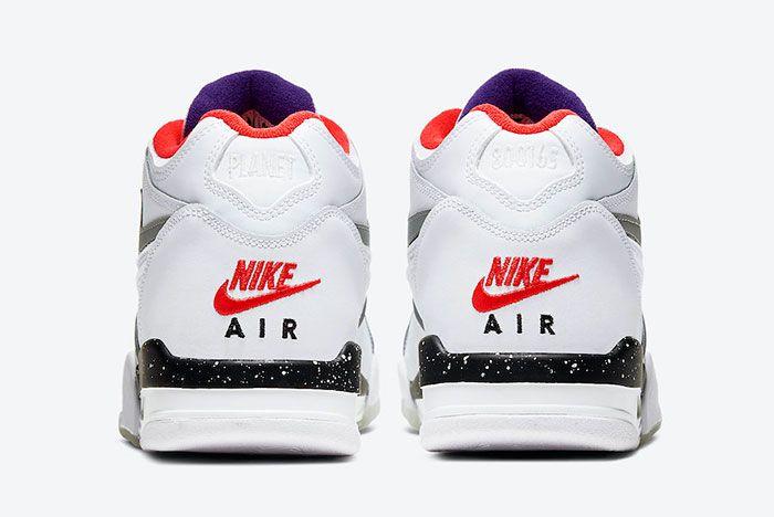 Nike Air Flight 89 Planet Of Hoops Cw2616 101 Heel
