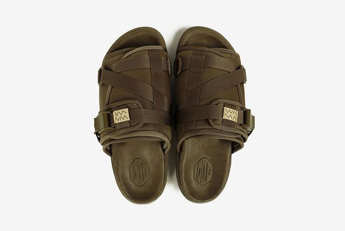 Visvim Christo Sandal Green Top