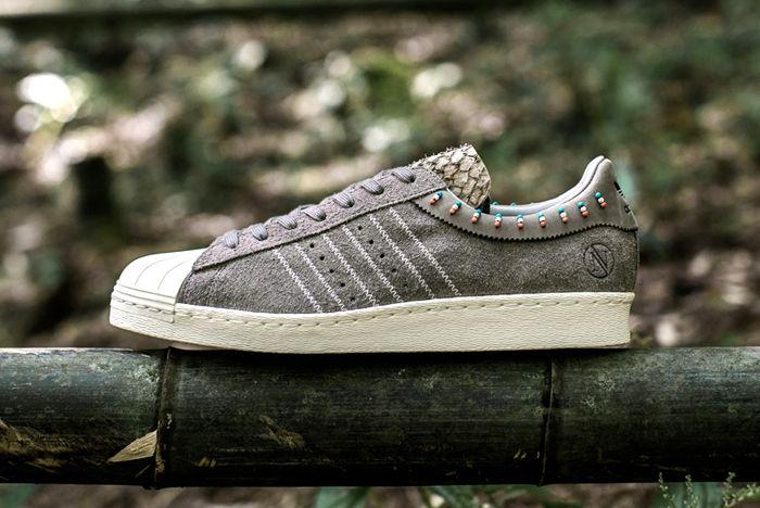 Invincible Adidas Consortium Superstar 80V 3