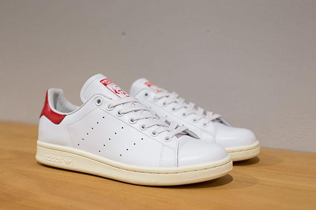 Adidas Stan Smith White White Red 2