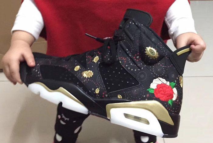 Jordan Brand Embellish a Beloved AJ6