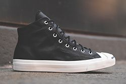 Converse Jack Purcell Mid Black White Thumb