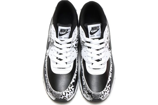 Nike Air Max 90 Gs Blackblack White2
