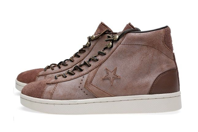 Converse First String Pro Leather Mid Zip 3