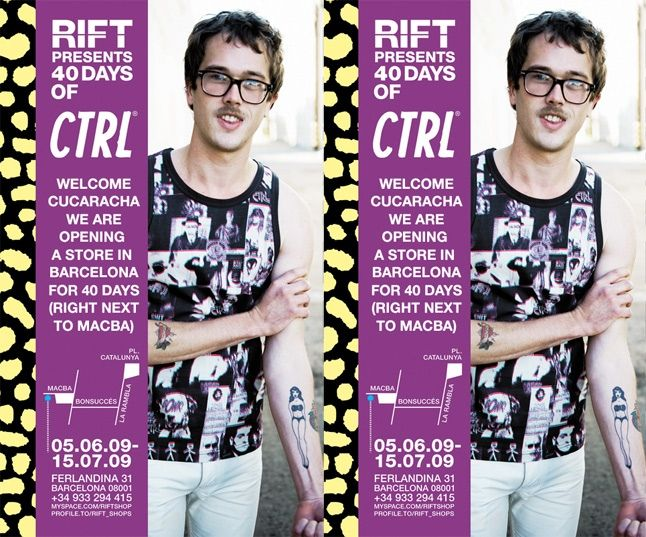 Ctrl Pop Up Shop Barcelona 1