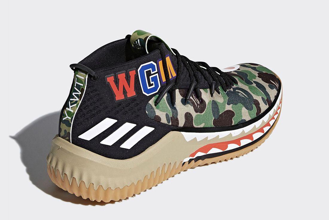 Bape X Adidas Dame 4 Release Date 5