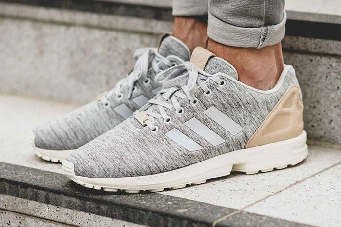 Adidas Zx Flux Solid Grey 1