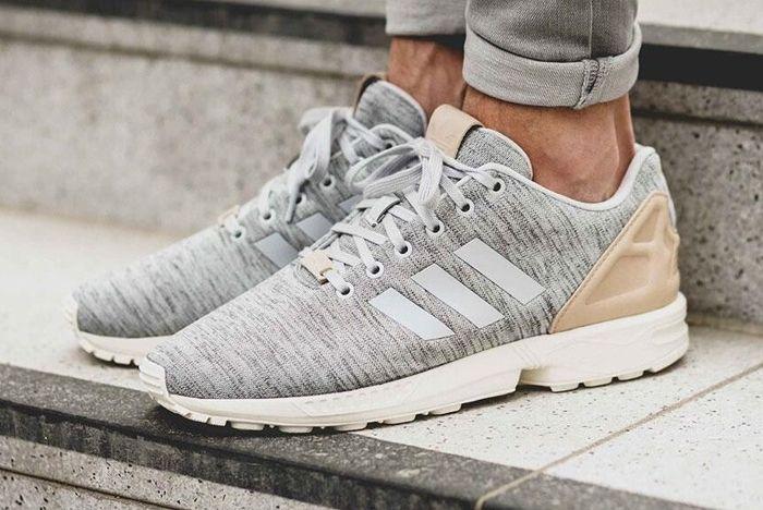Adidas Zx Flux Solid Grey 1