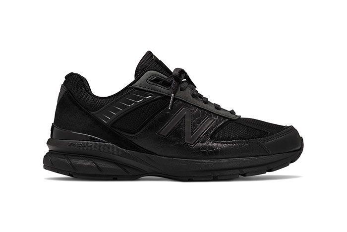 Engineered Garments New Balance 990V5 Black Lateral