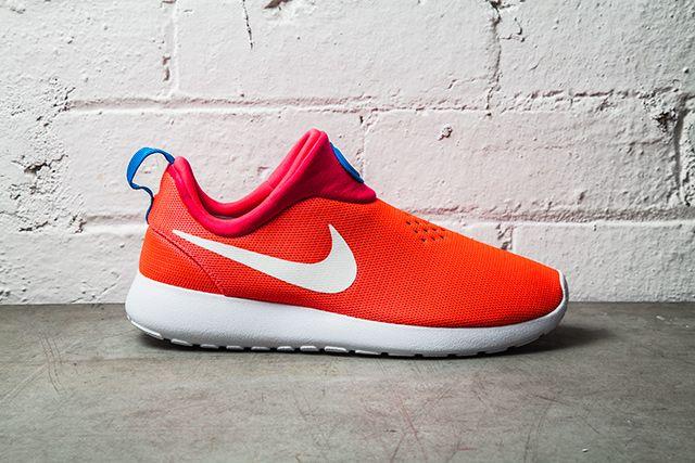 Nike Roshe Run Slip On Laser Crimson1