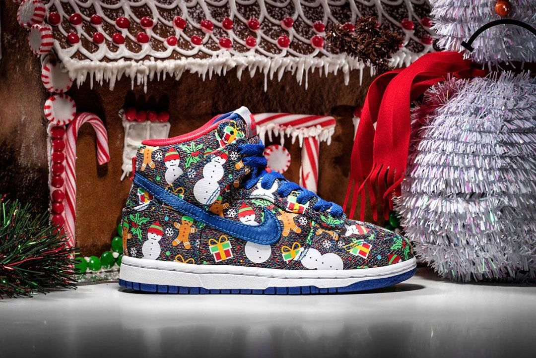 Concepts x Nike SB Dunk High 'Ugly Sweater' (2017)