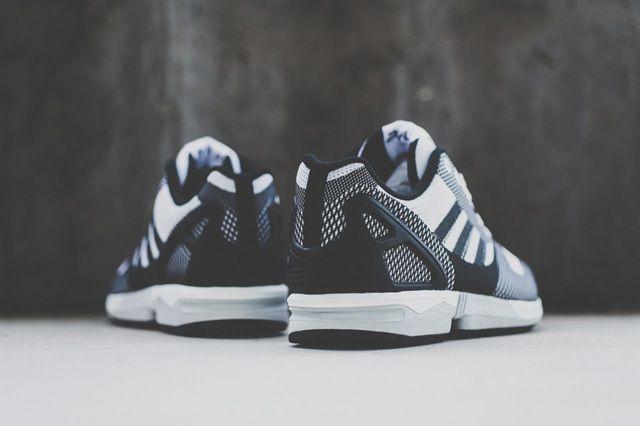 Adidas Zx Flux Weave White Black 2