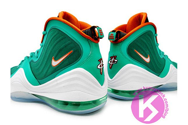 Nike Air Penny 5 Miami Dolphins 05 1