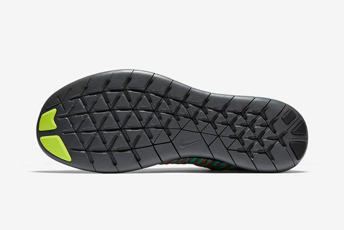 Nike Free Rn Flyknit Grey Multi 6