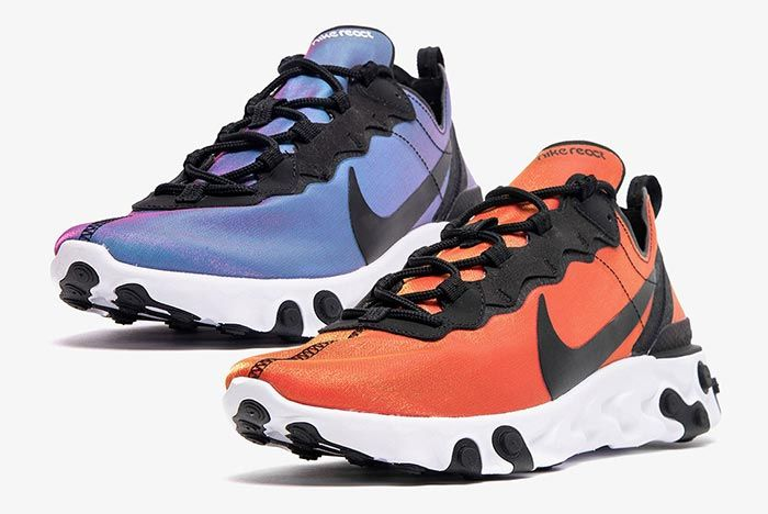 Nike React Element 55 Bq9241 001 Front Angle Shot 5