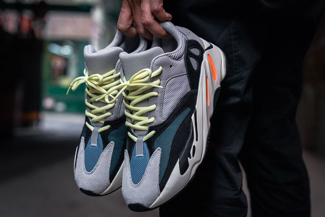 Adidas Yeezy 700 On Foot 4