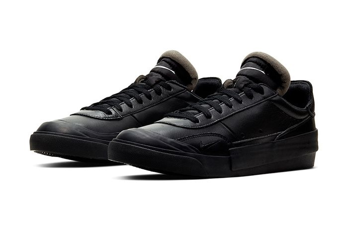 Nike Drop Type Lx Triple Black Cn6916 001 Release Date Pair