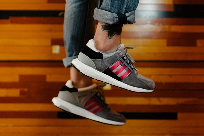 Adidas Eqt Support 93 16 Grey Red 2