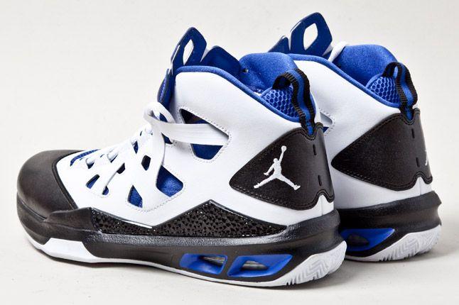 Jordan Melo M9 Wht Blue Heels 1