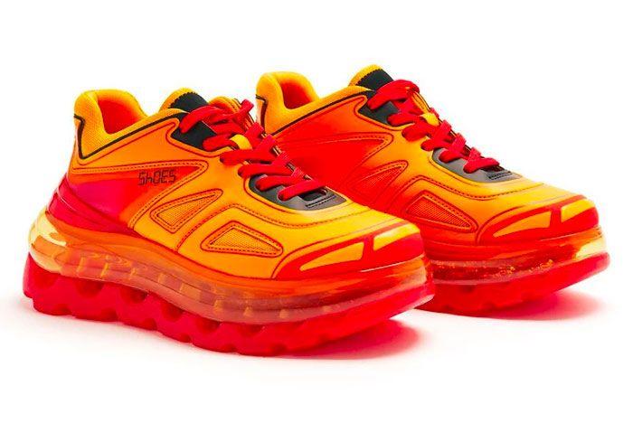 Shoe 53045 Air Bump Flame