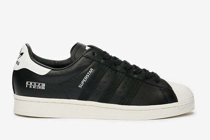 Adidas Superstar Misplaced Size Tag Black Fv2809 Black Lateral