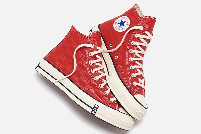 Kith Converse Chuck 70 Red 1 Official
