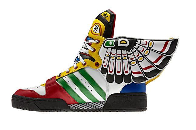 Adidas Originals Js Wings Totem Pole Side Profile 1