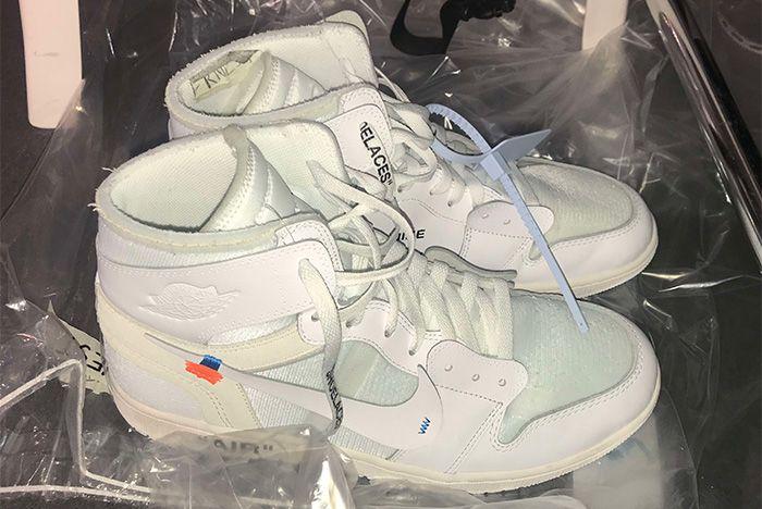 Off White X Nike Air Jordan 1 Virgil Abloh 2018 Sneaker Freaker 3