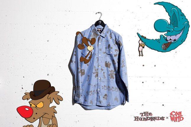 Cool World The Hundreds Blue Shirt 1