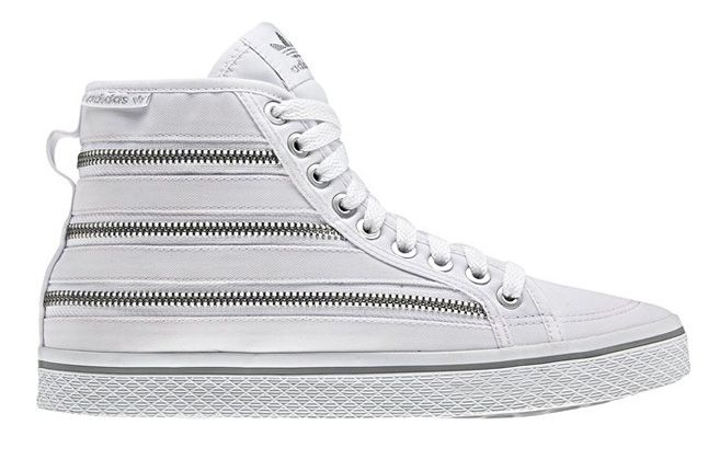 Adidas Originals Honey Zip White Side 1