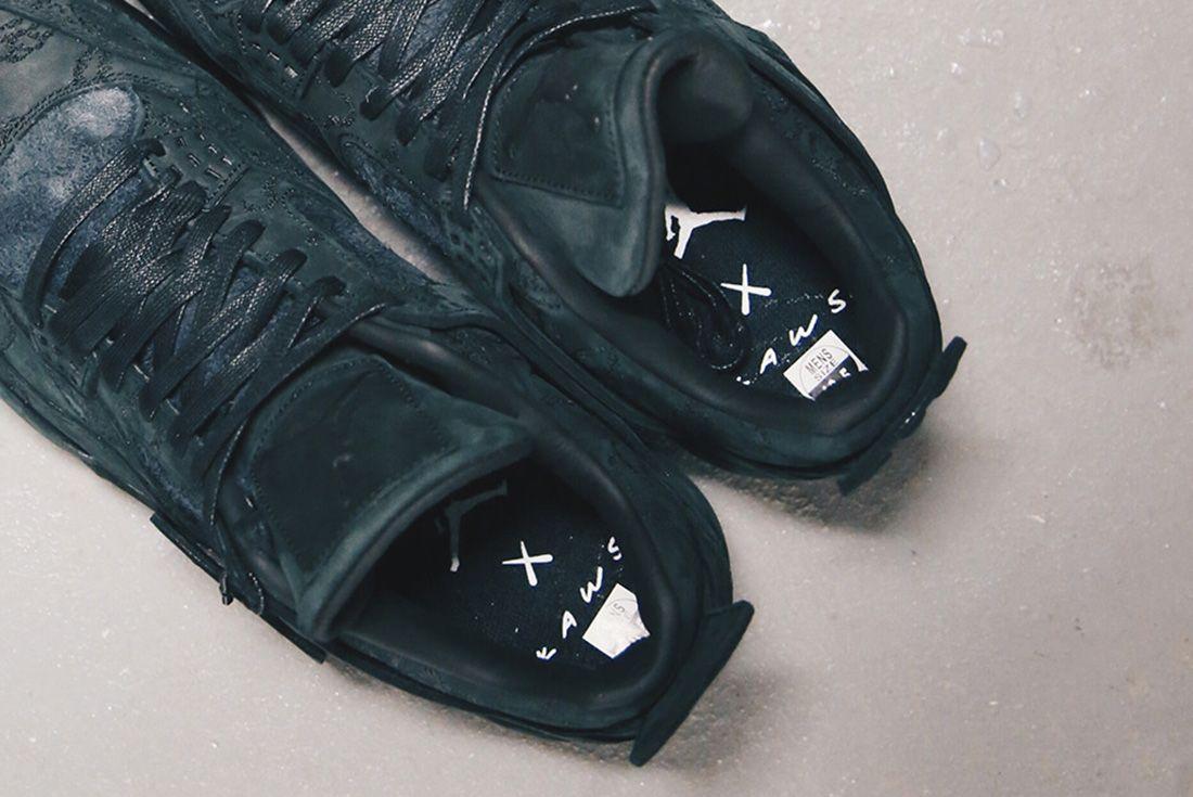 Air Jordan 4 Kaws Black Detail Sneaker Freaker 4