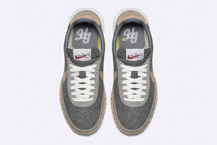 Nike Waffle Racer Ultra Premium Wool Vachetta Tan Leather 3
