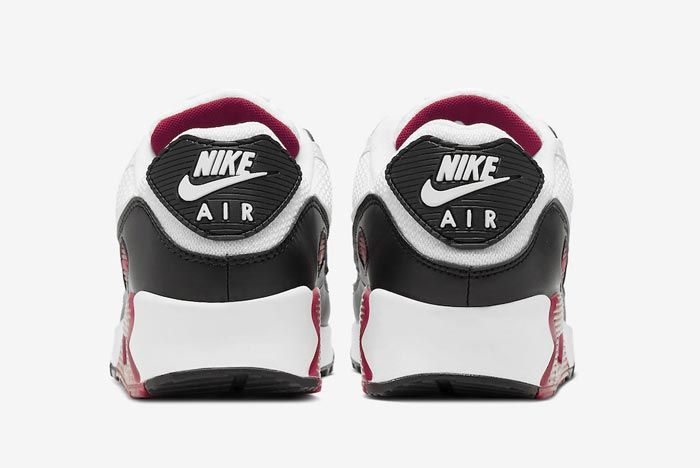 Nike Air Max 90 New Maroon Heels