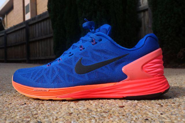 Nike Lunarglide 6 Blue Orange Yellow 5