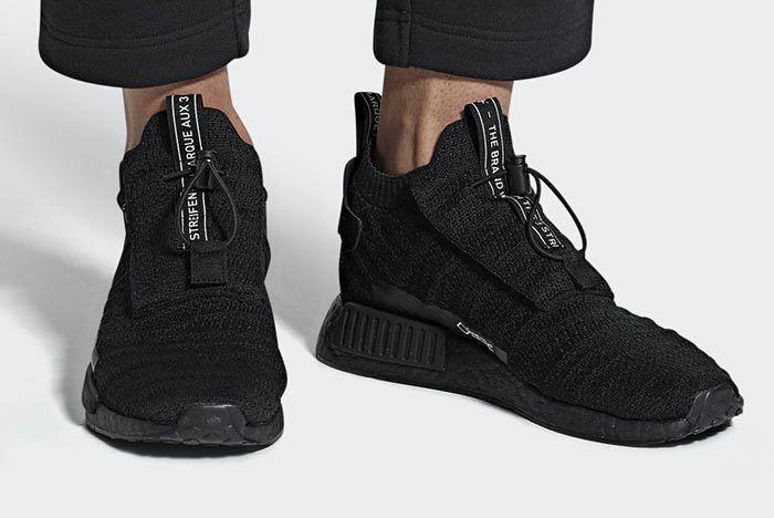 Adidas Nmd Ts1 Gore Tex Teiple Black 10