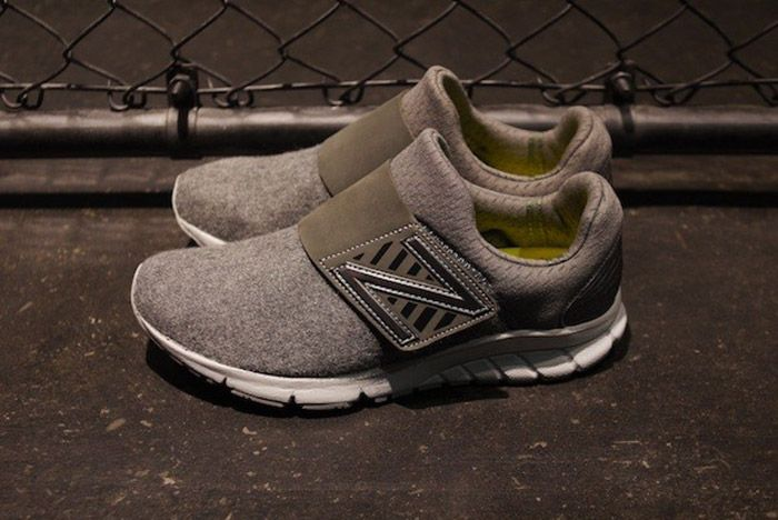 New Balance Rush Slip On Grey 1