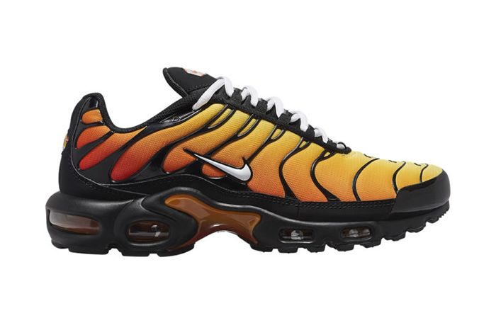 Nike Air Max Plus Tiger White Swoosh Black Sole 1