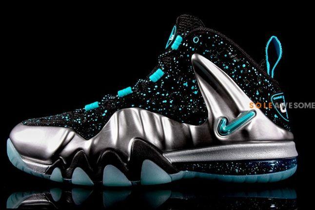 Nike Barkley Posite Max Pure Platinum Profile 1