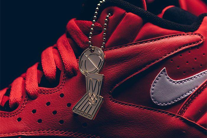 Nike Air Maestro Ii Qs University Red White Black Aj9281 600 3