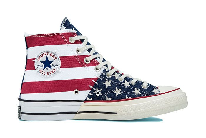Converse Chuck Taylor All Star 70 Stars And Stripes Blue Red Right