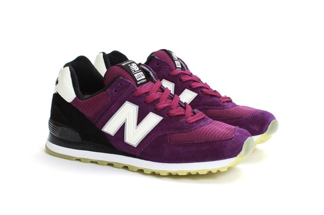 Concepts New Balance 574 Northern Lights Maroon 1