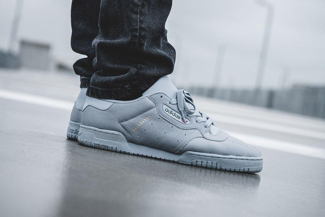 Adidas Yeezy Powerphase Grey On Foot Sneaker Freaker 4