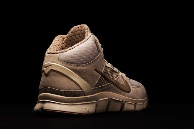 Khaki Nike Free Trainer 7 0 Shield Heel 1