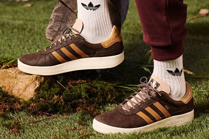 Adidas Munchen Made In Germany Oktoberfest Brown On Foot
